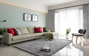 现代小户型客厅简约装饰