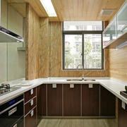 家居方便的小厨房