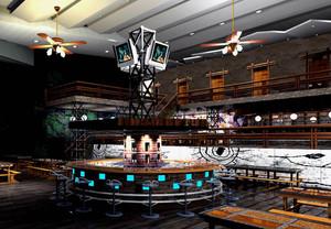 复古特色:小户型酒吧装修效果图