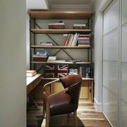小户型书房书柜欣赏