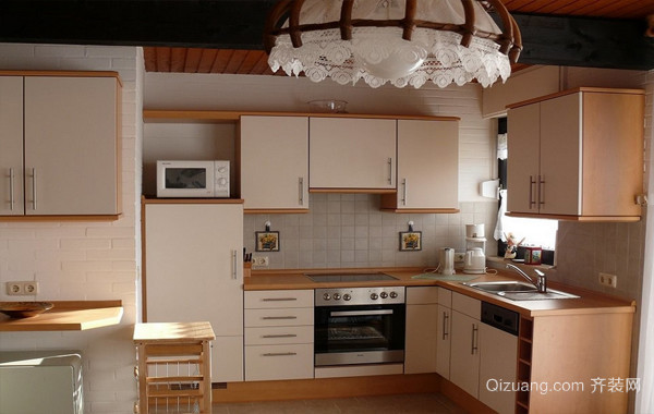 烹饪时光:宜家小型厨房装修效果图