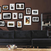 前卫个性照片墙展示