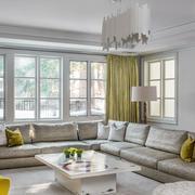 室内客厅舒适大沙发