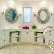 室内精美卫生间洗手台