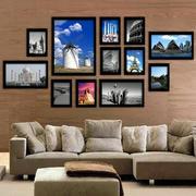 沙发背景照片墙