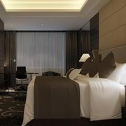 酒店客房窗帘图片