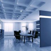 开放式办公会议室展示