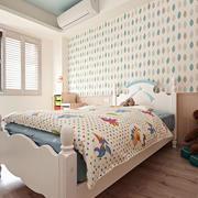 室内儿童房清爽装饰