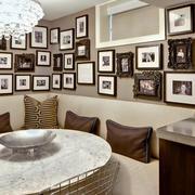 古典餐厅照片墙欣赏