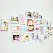 甜美现代化照片墙