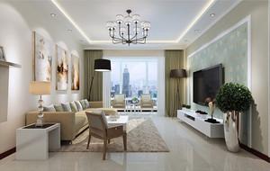 房屋简单客厅装饰