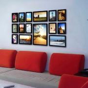 大气时尚照片墙展示
