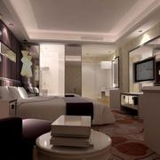 酒店客房床头时尚吊灯