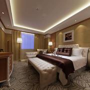 酒店简欧风格客房展示