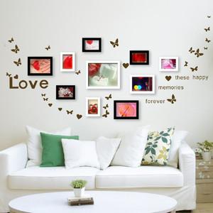 记录生活:精美家居照片墙设计效果图