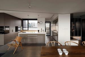 简单无华:男士公寓北欧风房屋装修设计图