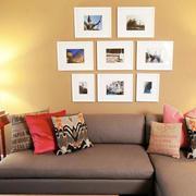朴素家庭照片墙欣赏