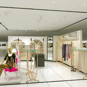 现代简约服装店欣赏