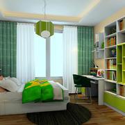清新小户型卧室图片