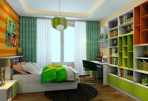 都市青少年小户型16平米卧室装修设计图