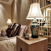 室内古典台灯展示