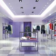 紫色浪漫服装店图片