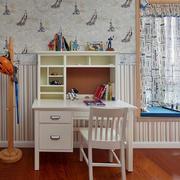 室内儿童房书桌欣赏