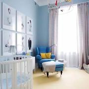 室内婴儿房装饰