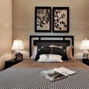 室内卧室床头装饰画