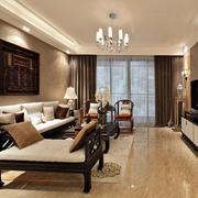 室内客厅实木家具