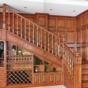 楼梯酒柜设计展示