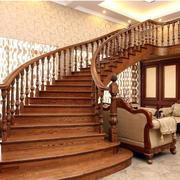 大气奢华的家居楼梯
