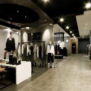 loft风格服装店展示