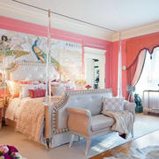 欧式公主卧室装修效果图