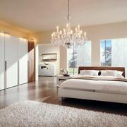 温馨的感觉,大别墅朴素卧室设计效果图