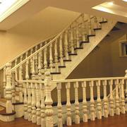 精美米黄色楼梯展示