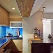 房屋开放式小厨房欣赏