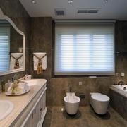 70平米小户型欧式风格卫生间装修效果图鉴赏