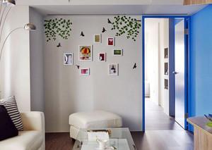 100平米明亮休闲的两居室房屋设计效果图