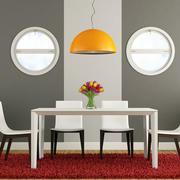 一室一厅公寓餐厅现代装饰设计效果图