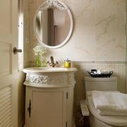 婚房卫生间精美洗手台