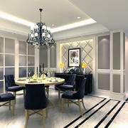 2016小户型欧式餐厅装修设计效果图鉴赏