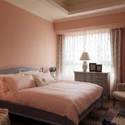 婚房粉色浪漫卧室欣赏