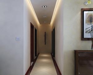 110平米大户型欧式走廊吊顶装修效果图鉴赏