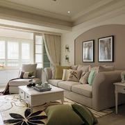 婚房客厅布艺沙发