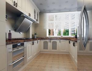 80平米小户型欧式风格厨房装修效果图实例