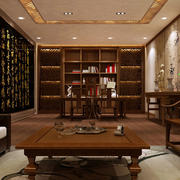 中式风格办公室图片