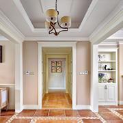 家居走廊地板瓷砖展示