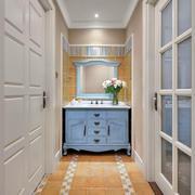 家居洗手台置物柜展示