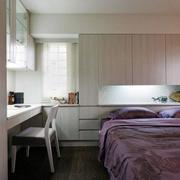 房屋卧室床头柜展示